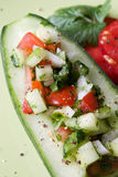 Indian cucumber salad Royalty Free Stock Photography