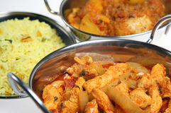 Indian Cuisine Royalty Free Stock Photos