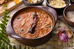 Indian cuisine dal tadka Royalty Free Stock Photography