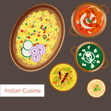 Indian Cuisine Stock Images