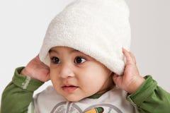 Indian curious  boy baby Stock Photos