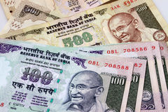 Indian Currency. In use in India Stock Photo