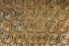 Indian currency money coins Royalty Free Stock Photo