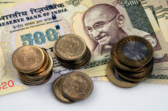 Indian currency Stock Image