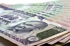 Indian currency notes Royalty Free Stock Photos