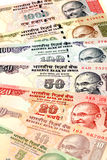 Indian currency notes. Close up view of Indian currency notes Stock Photography