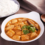 Indian Curry Butter Chicken Stock Image