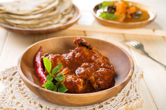 Indian curry chicken. Stock Images