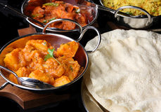 Indian Curry Meal Food Royalty Free Stock Images
