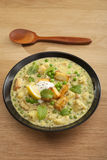 Indian Curry Panir and Peas Stock Photography