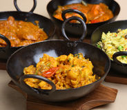 Indian Cusine Royalty Free Stock Photo
