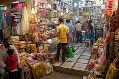 Indian customers at the New Market, Kolkata, India Royalty Free Stock Images