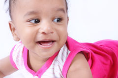 Indian Cute Baby Royalty Free Stock Photography