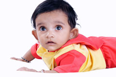 Indian Cute Baby Stock Image