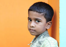 Indian Cute Boy Stock Image