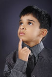 Indian Cute Boy. Indian Cute Little Boy Looking up Stock Images
