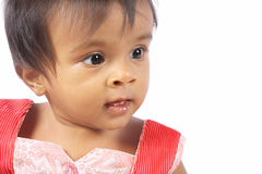 Indian Cute Little Baby Royalty Free Stock Image