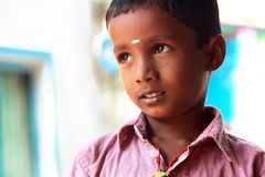 Indian Cute Little Boy Royalty Free Stock Photography