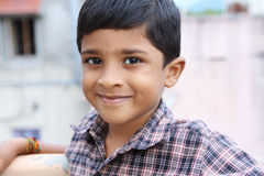 Indian Cute Little Boy Royalty Free Stock Photos