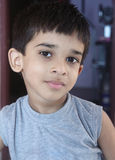 Indian Cute Little Boy Stock Images