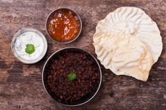Indian dal dish Royalty Free Stock Images