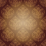 Indian Damask background Pattern Stock Image