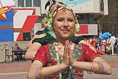 Indian dance Stock Photos