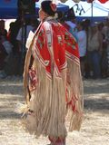 Indian Dance. Pic from a American Indian woman dancing Stock Photo