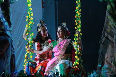 Indian dance expression Stock Photos