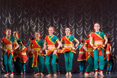 Indian dance Royalty Free Stock Photo
