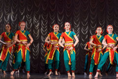 Indian dance Stock Photography