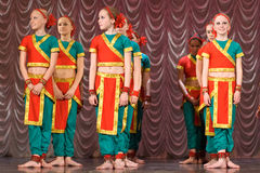 Indian dance Royalty Free Stock Image