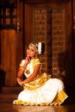 Indian dance Mohiniyattam Royalty Free Stock Photography