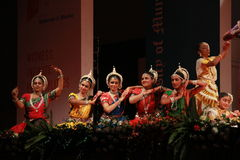 Indian dance posture Stock Photo
