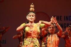 Indian dance posture Stock Photos