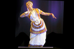 Indian Dance-Rabindra Nrityotsav Royalty Free Stock Photo