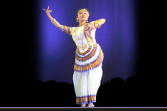 Indian Dance-Rabindra Nrityotsav Stock Images