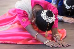 Indian Dancer Royalty Free Stock Photography