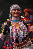 Indian Dancer at Bristol Festival Stock Photos