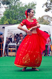 Indian dancer at the festival Stock Images