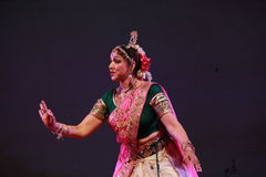Indian dancer Royalty Free Stock Image