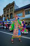 Indian dancer at multicultural festival in Sydney Royalty Free Stock Photography