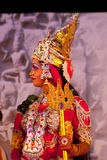 Indian dancer performs traditional Kathakali Stock Images