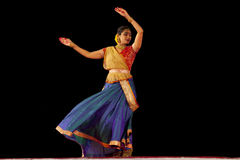 Indian dancer s performs traditiona dances Stock Photography