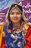 Indian Dancer in Traditional Costume Royalty Free Stock Photos