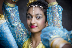 Indian dancer Stock Photography