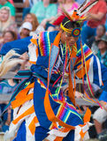 Native American Dancer. Indian Dancer, young teen male dancer at Powwow Stock Images