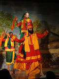 Indian dancers Stock Photography