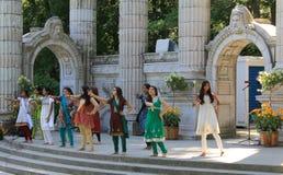 The Indian  Dancers Stock Photos