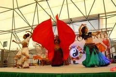 Indian dancers Stock Image